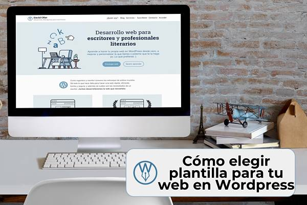 Como elegir plantillas WordPress