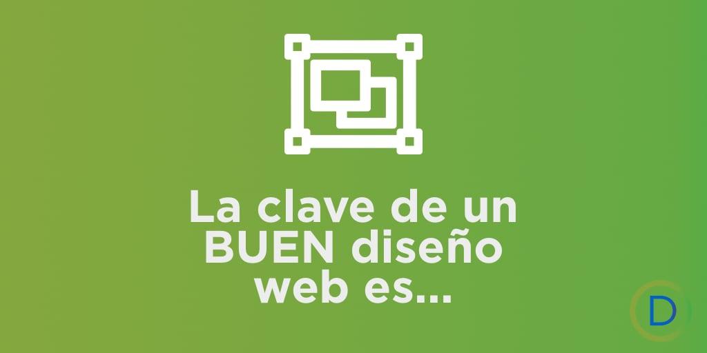 La clave para un buen diseño web