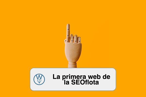 La primera web de la SEOflota